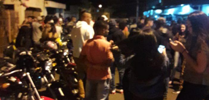 Baile funk no bairro Pará revolta moradores e organizador diz não ser de sua responsabilidade