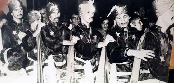 Assim era o carnaval de Itabira desde o tempo do Mato Dentro