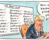 A guerrilha psicológica no Twittere um planeta chamado Trump